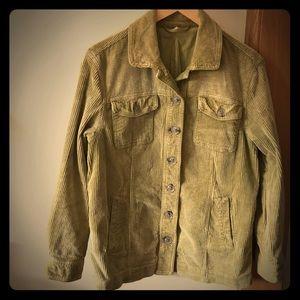 free people corduroy jacket -xs
